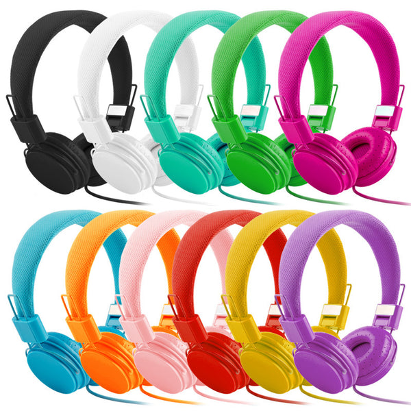 New EP05 Folding Fashionable Head-mounted Wire-Controlled Color Wired Headphone Earphone Gift