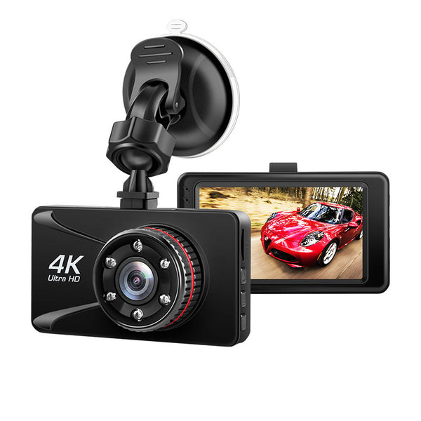 Car DVR camera dash Cam 4k 3 Inch 1080P Full HD Dash Camera 150 Degree Dashcam Cars Night Vision G-Sensor