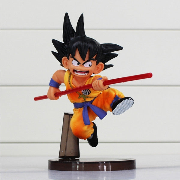 16cm Cute Anime Character Action Figures Toys Dragon Ball Sun Goku PVC Toy Multi-color