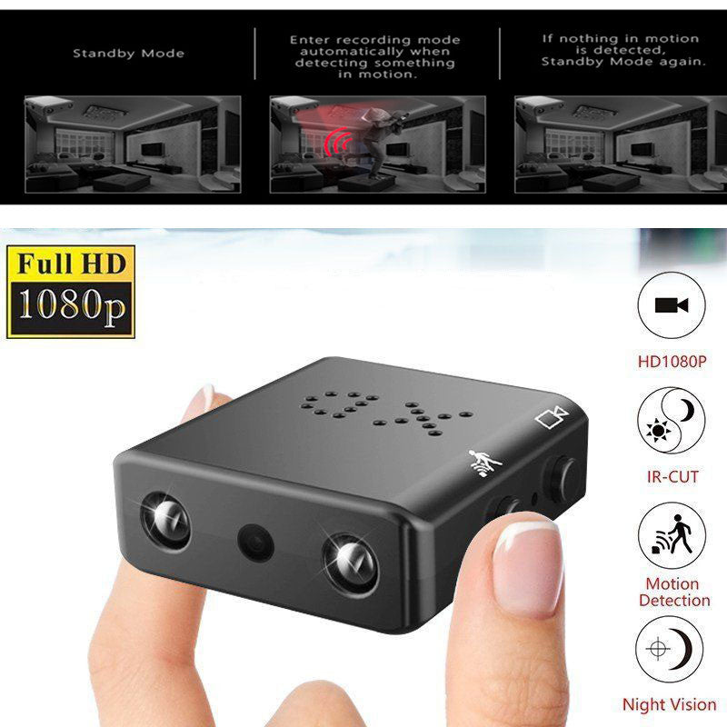 HD 1080P Mini Camera small wifi Camcorder Infrared Night Vision audio Video Recorder Micro Cam Motion Detect