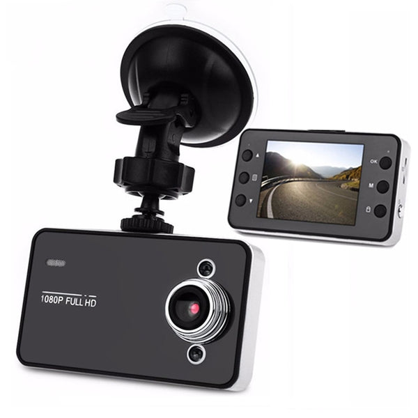 2.2 Inch Car DVR Camera Video Dash Cam Recorder Full HD 1080P Dual LED Night Vision Video Registrator Car Camera K6000