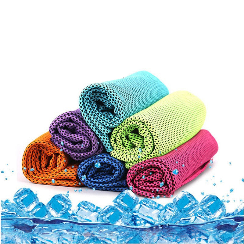 1Pc Outdoor Sport Magic Cooling Towel Quick-Dry Ice Towels For Fitness Yoga Summer Enduring Instant Chill Towel