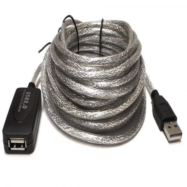 20m USB 2.0 Active Repeater Male to Female Extension Cable Adapter Cord
