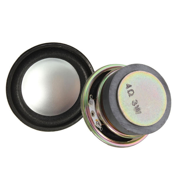 2pcs 1.5inch 4Ohm 5W Full Range Audio Speaker Stereo Loudspeaker