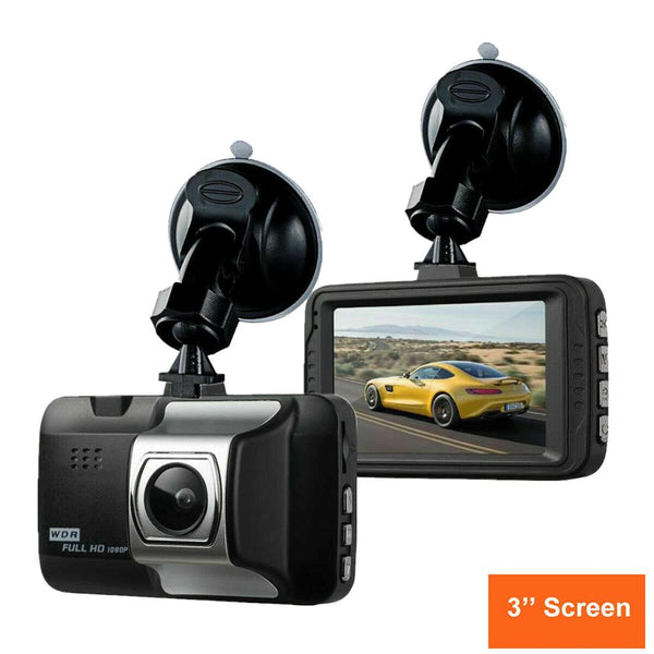 3 inch screen driving recorder 170° infrared night vision driving recorder car camera car DVR Box Car Charger Free Shipping