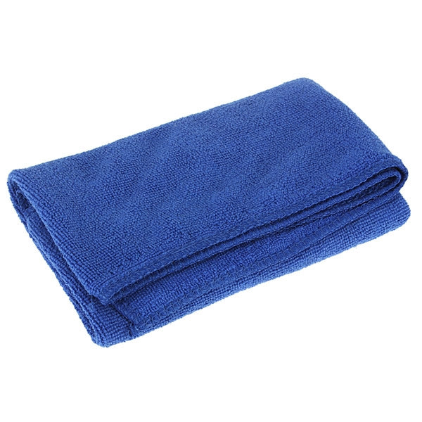 30 x 70cm Ultralight Car Cleaning Microfiber Absorbent Towel - Blue