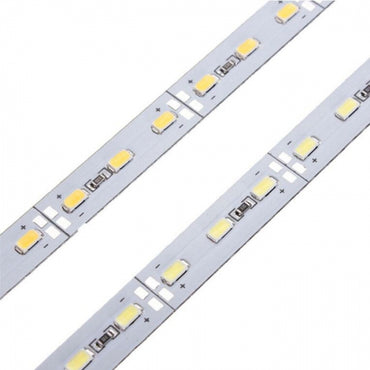 35cm 6W 12V SMD5630 Waterproof 24 LED Rigid Strip Light Transparent Cover