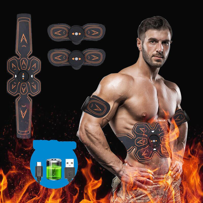 Charging Smart Wireless Abdominal Muscles Muscle Training Lazy Abdominal Fitness Belt