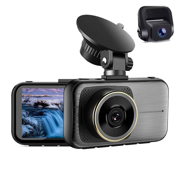 4K Dash Cam Sony IMX335 Super Night Vision Video Recorder 3 Inches Mini Dashcam HD DVR Camera Car Registrar 24H Parking Monitor