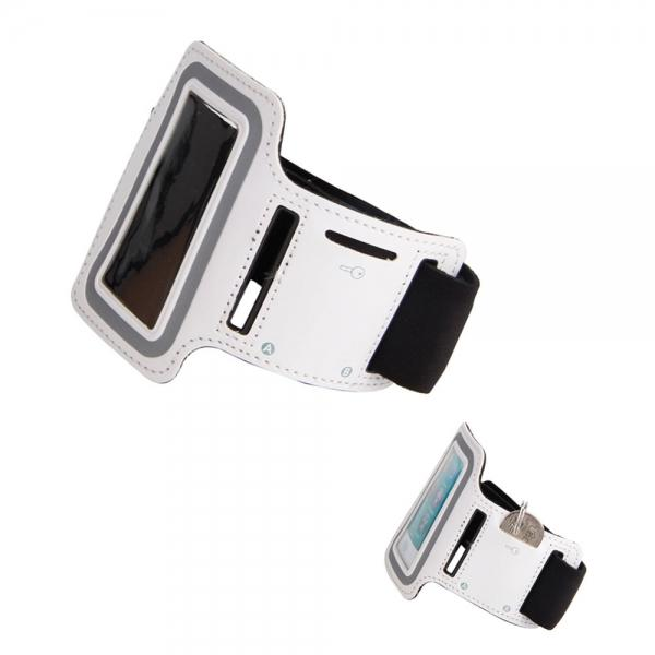 High Quality Soft Sports Armband for iPod nano 7 White - stringsmall