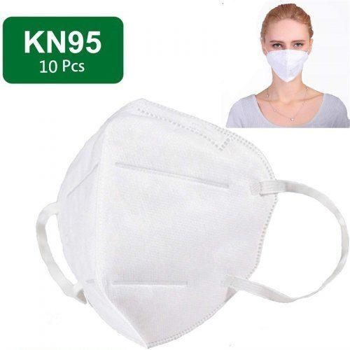 10Pcs / 20Pcs / 50Pcs/100Pcs KN95 Mask N95 Respirator Five layer Protection with Melt-blown Filter Effect