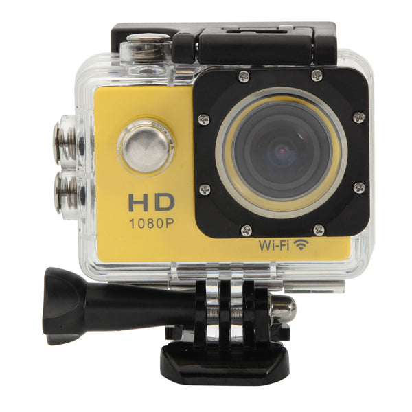 WiFi SJ4000 12M Waterproof 1.5inch LCD 12MP Car DVR Camera Sport DV HD 1080P Sport Camcorder Yellow