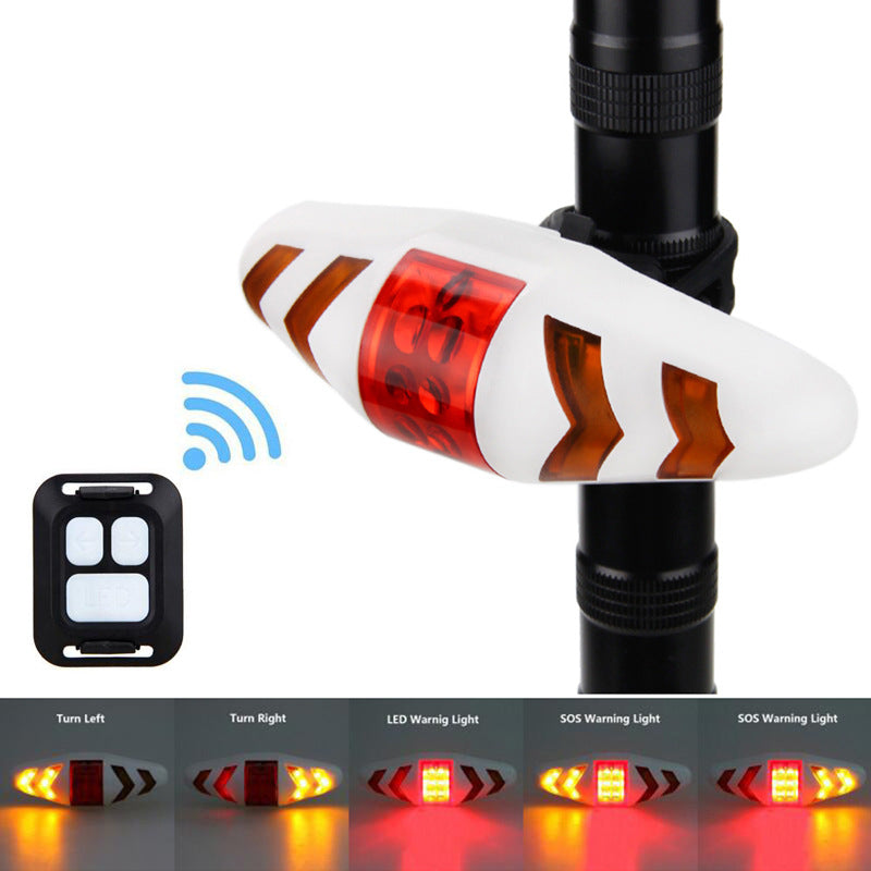 Bike Light Bicycle Turn Signal Light Wireless Remote Control Bike Taillight Cycling Flashlight Bike Headlights for Bicycle