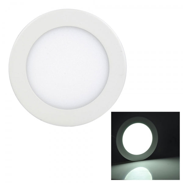 9W LED Downlight Ultra Slim Recessed Ceiling Panel Lights Round - White