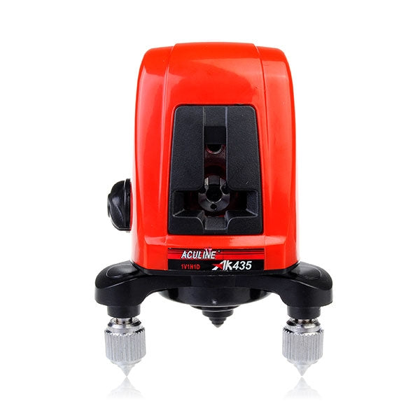 Portable 360 Degree Self-leveling 2 Line Cross Laser Level - Red