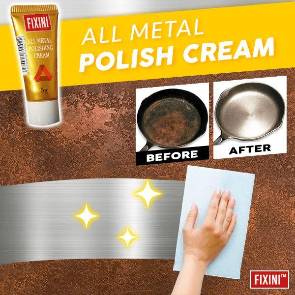 1Pc FIXINI All Metal Polish Cream Rust Remover Steel Ceramic Watch Polishing Cream All-Purpose Cleaner