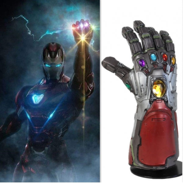 Avengers 4 Endgame Thanos Iron Man Hulk Infinity Gauntlet Cosplay Gloves Accessory Props Tony Stark Iron Man Gauntlet Cosplay