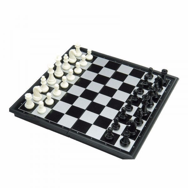 Magnetic Chess Set with Folding Plastic Board - M