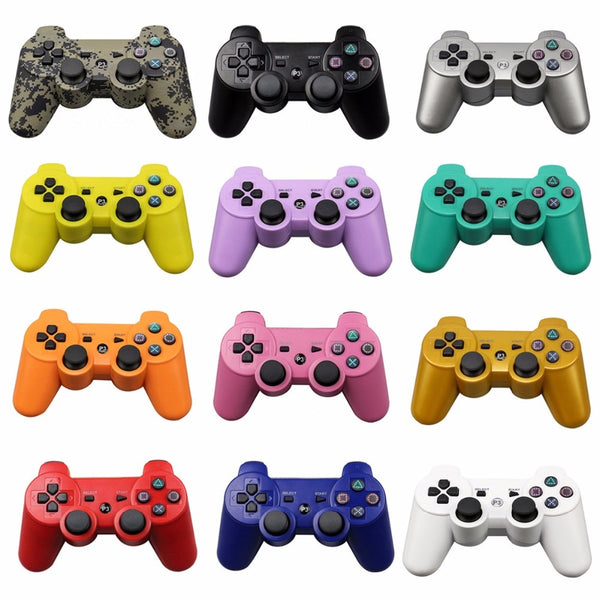 Bluetooth Wireless Controller for SONY PS3 Gamepad, Play Station 3 Wireless Joystick Sony Playstation 3 PC Controls