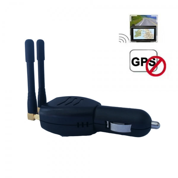 Car Beidou Signal Blocker GPS Jammer Interference Shielding Device - Black
