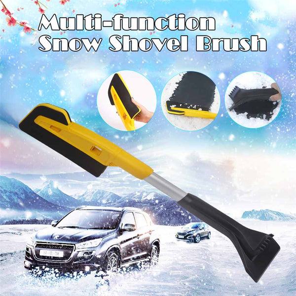Car Snow Shovel Multifunctional Snow Shovel Long Rod Deicing Ice Sweep Tool Snow Removal Brush For Winter Car Accessories