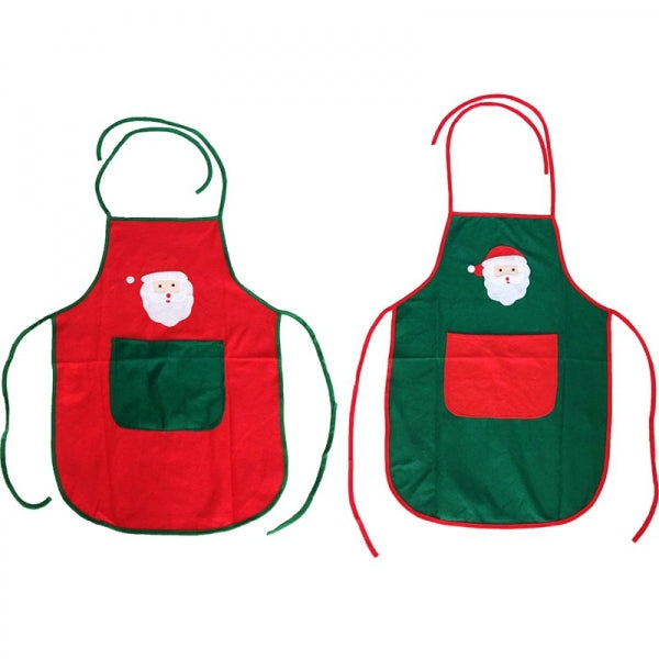 Decoration Gift Non-woven Fabric Bartender Household Apron Red