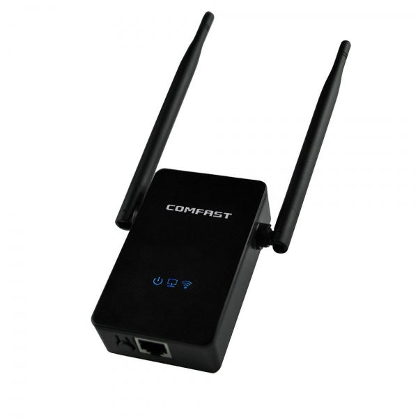 Comfast CF-WR302S 300M Dual 5dBi Antenna Signal Booster Wireless-N WiFi Repeater Network Range Expander EU Plug