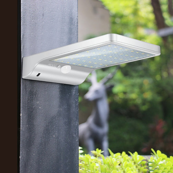 Solar Wall Light Outdoor 36pcs LED Intelligent Ultra-thin Wall-lamps Motion Sensor Wall Lamp Street Lamps Garden Lights
