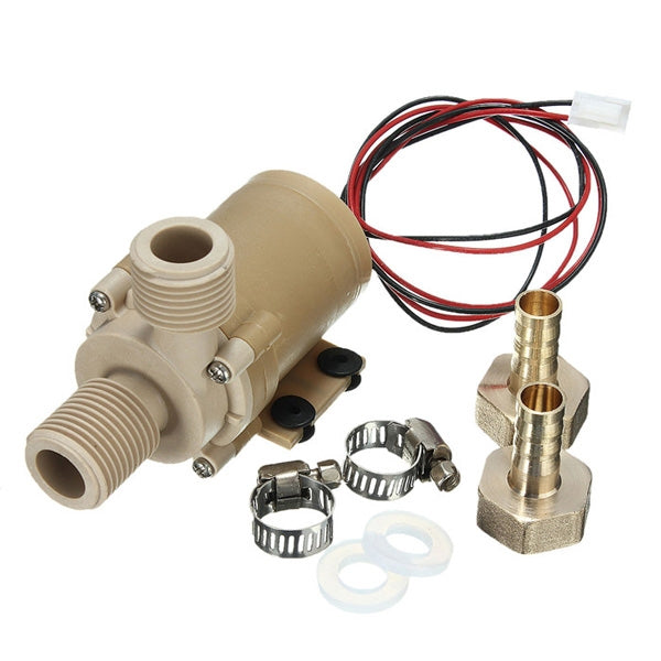 DC 12V Solar Hot Water Circulation Pump Brushless Motor Water Pump