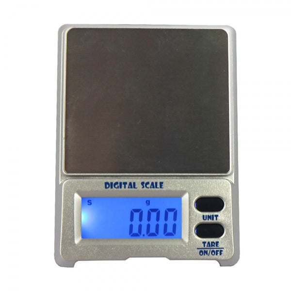 DS-18 200g / 0.01g 1.5inch LCD Precision Pocket Electronic Jewelry Scale Silver Gray
