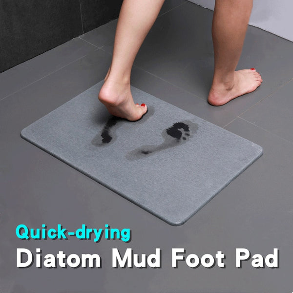 Diatom Mud Absorbent Non-slip Quick-drying Foot Pad Floor Mat Diatomite Bath Mat For Bathroom Entrance Doormat Anti-slip Carpet