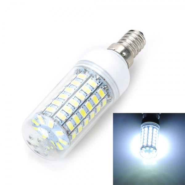 E14 12W 920LM 6500K LED Corn Lamp Bulb 69-SMD 5730 White Light