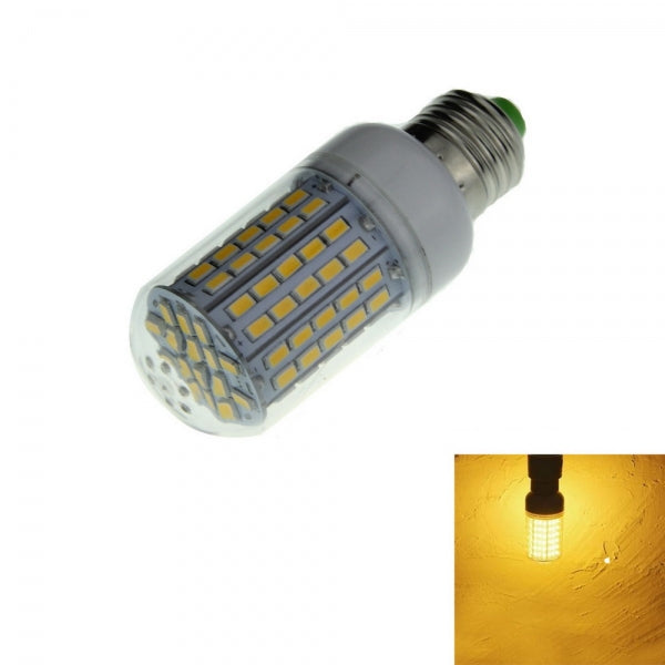 E27 12W 1200LM 3500K LED Corn Lamp Bulb 96-SMD 5730 220V Warm White Light