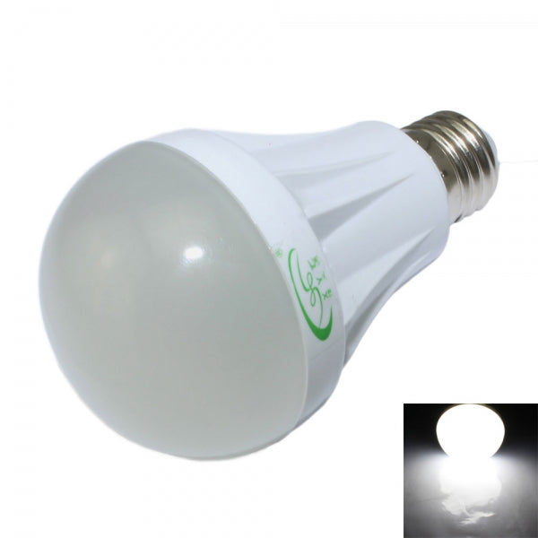 E27 7W 600lm 6500K 27-SMD 2835 LED White Light Bulb White (120-265V)