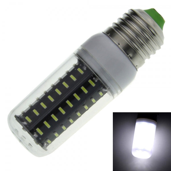 E27 9W 800lm 6000K  LED Corn Lamp Bulb 72-SMD 4014 110-120V White Light