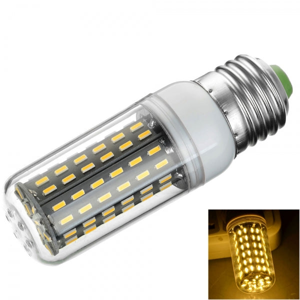 E27 9W 900lm 3000K LED Corn Lamp Bulb 96-SMD 4014 200-240V Warm White Light