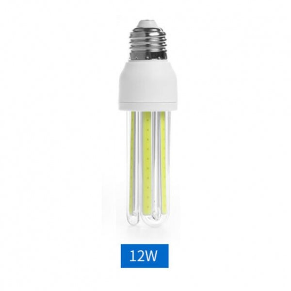 E27 12W LED Bulb COB U Shape Energy Saving Corn Light Warm White