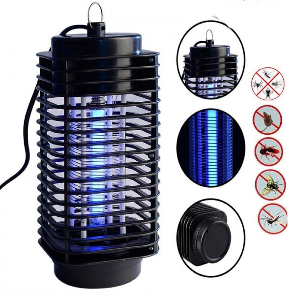 Electric Mosquito Fly Bug Insect Zapper Killer With Trap Lamp - US Plug