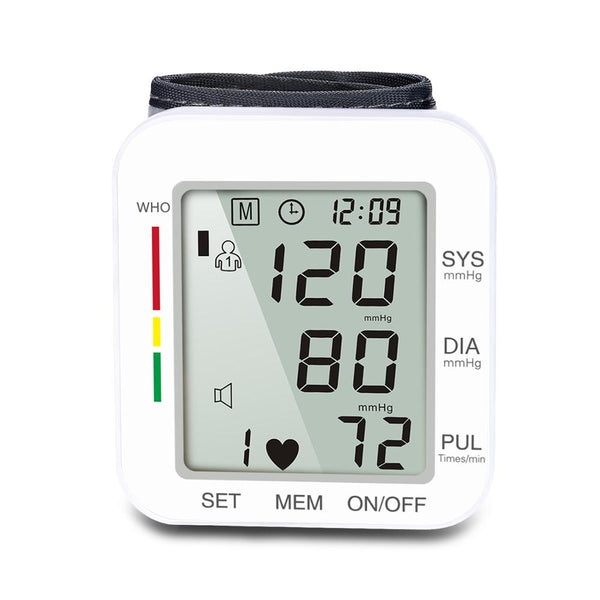 Electronic Blood Pressure Measuring Instrument Household Automatic High Precision Wrist Type Medical Sphygmomanometer
