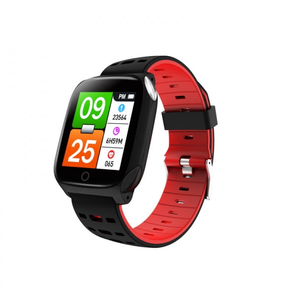 F16 ECG + PPG Health Electrocardiogram Heart Rate Blood Pressure Blood Oxygen Sleep Monitor Waterproof Smart Bracelet