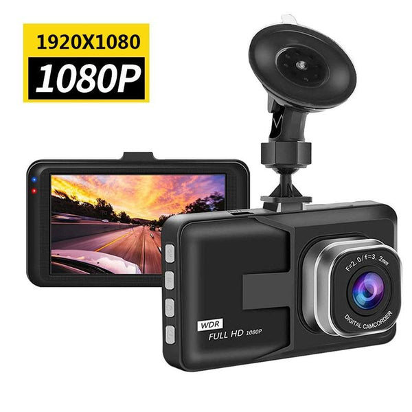 "Full HD 1080P Video recorder Driving Recorder Car DVR Dash Camera  3"" Cycle Recording Night Wide Angle Dashcam Video Registrar"