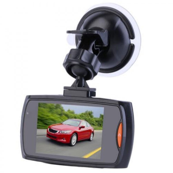 2.4inch LCD 1080P Wide Angle Motion Detection Night Vision Car DVR - Black