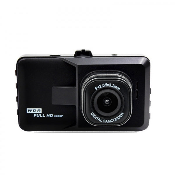 GT600 Full HD Driving Recorder 720P 3.2inch Loop Recording 170° View Angle Parking Monitoring Motion Detection Car DVR Camera