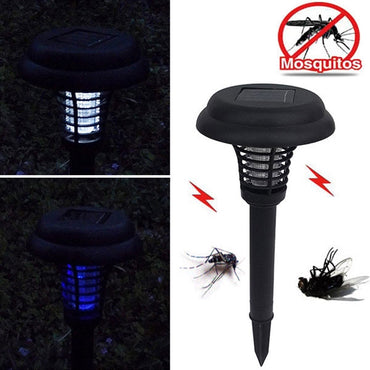 Solar Waterproof LED Lawn Garden Outdoor Camping Mosquito Killer Lamp