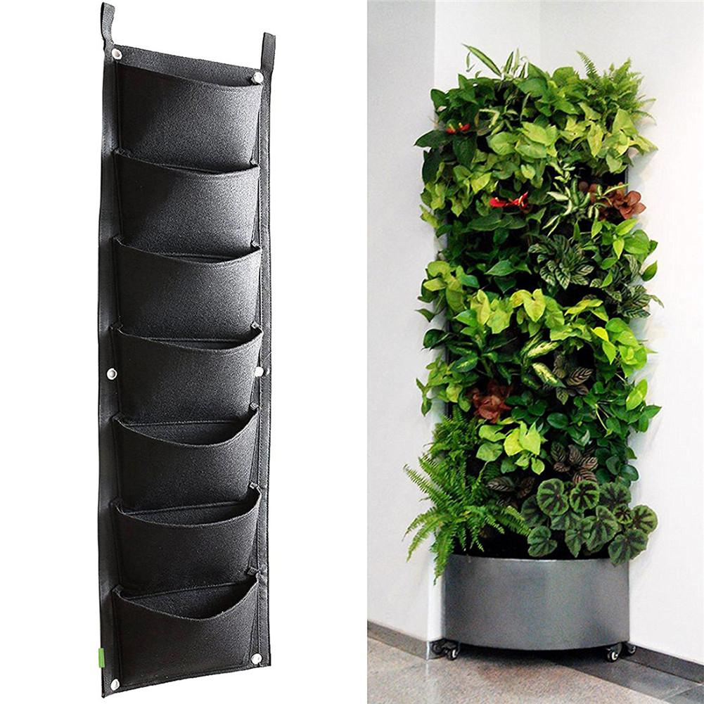 Greenhouse Felt Vertical Planter Garden Wall Mounted Root Garden Growing Control Bag For Greening Nursery Project,home Gardening
