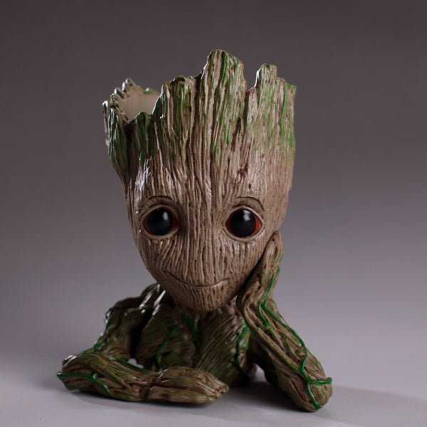 Guardians of the Galaxy Vol.2 Baby Groot Flowerpot Style Pen Pot - Tortoise Groot