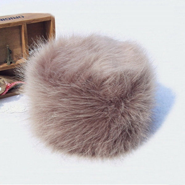 Imitation Fox Fur Hat Faux Fur Ladies Hat Warm Fashion Mandatory in Winter - Khahi