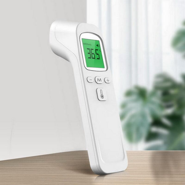Infrared Forehead Digital Thermometer Gun IR Laser Non Contact Thermometer With 3 Color Backlight Display For Baby Adults Indoor
