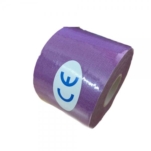Kinesiology Muscle Care Tape Athletic Therapeutic Sports Tape Bandage 5cm x 5m Purple - stringsmall