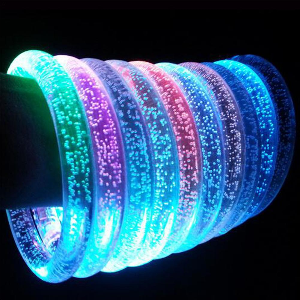LED Flashing Bracelet Light Up Acrylic Luminous Bracelet Luminous Toys